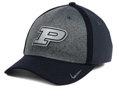 Purdue Boilermakers Nike NCAA Heather Stretch Fit Cap
