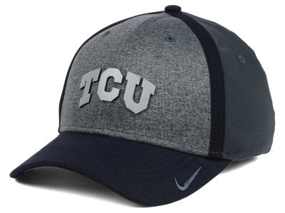 Texas Christian Horned Frogs Nike NCAA Heather Stretch Fit Cap