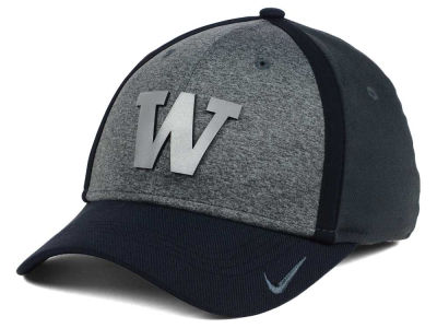 Washington Huskies Nike NCAA Heather Stretch Fit Cap