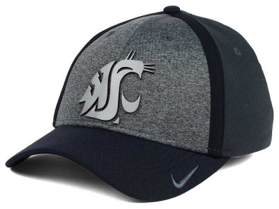 Washington State Cougars Nike NCAA Heather Stretch Fit Cap