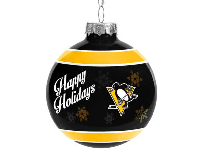 Pittsburgh Penguins 2017 Glass Ball Ornament