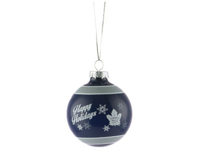 Toronto Maple Leafs 2017 Glass Ball Ornament
