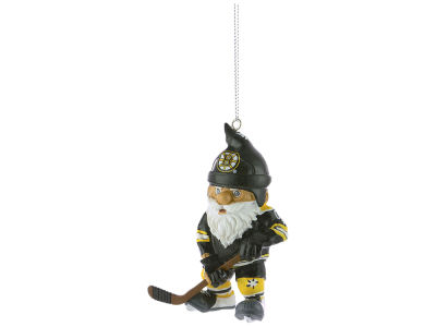 Boston Bruins NHL Action Gnome Ornament