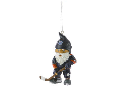 Edmonton Oilers NHL Action Gnome Ornament