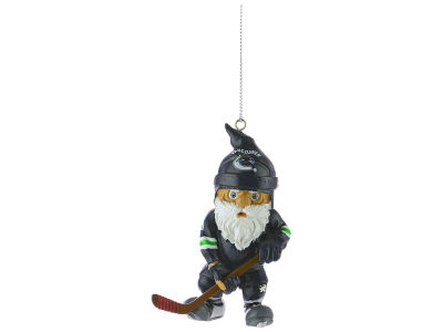 Vancouver Canucks NHL Action Gnome Ornament