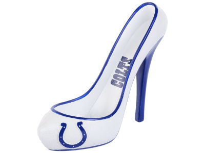 Indianapolis Colts Team Shoe Glitter Wine Bottle Holder