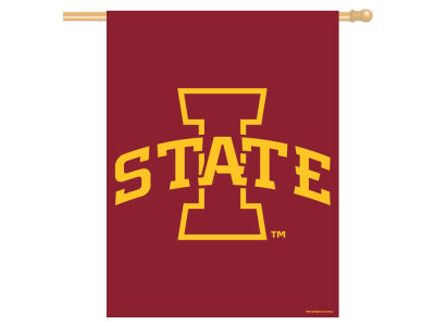 Iowa State Cyclones 27x37 Vertical Flag