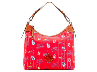 St. Louis Cardinals Dooney & Bourke Nylon Hobo Bag