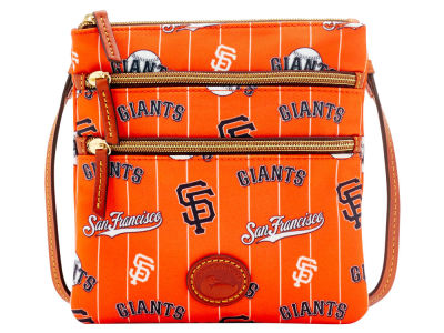 San Francisco Giants Dooney & Bourke Nylon Triple Zip Crossbody