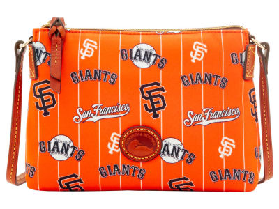 San Francisco Giants Dooney & Bourke Nylon Crossbody Pouchette