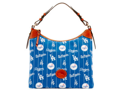 Los Angeles Dodgers Dooney & Bourke Nylon Hobo Bag