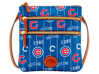 Chicago Cubs Dooney & Bourke Nylon Triple Zip Crossbody