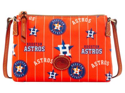 Houston Astros Dooney & Bourke Nylon Crossbody Pouchette