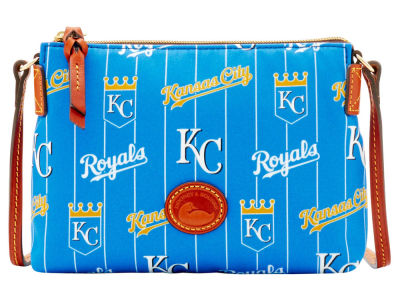 Kansas City Royals Dooney & Bourke Nylon Crossbody Pouchette