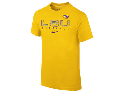 LSU Tigers Nike NCAA Youth Cotton Facility T-Shirt