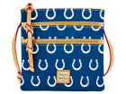 Indianapolis Colts Dooney & Bourke Dooney & Bourke Triple Zip Crossbody Bag Luggage, Backpacks & Bags