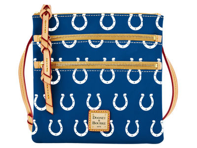 Indianapolis Colts Dooney & Bourke Triple Zip Crossbody Bag