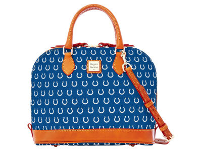 Indianapolis Colts Dooney & Bourke Zip Zip Satchel