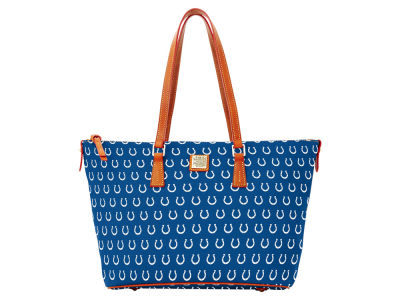 Indianapolis Colts Dooney & Bourke Zip Top Shopper
