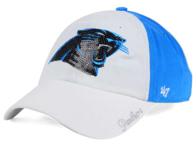 Carolina Panthers '47 NFL '47 Women's White Sparkle Cap