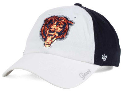Chicago Bears '47 NFL '47 Women's White Sparkle Cap