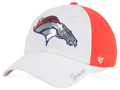 Denver Broncos '47 NFL '47 Women's White Sparkle Cap