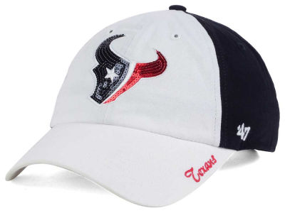 Houston Texans '47 NFL '47 Women's White Sparkle Cap