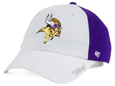 Minnesota Vikings '47 NFL '47 Women's White Sparkle Cap