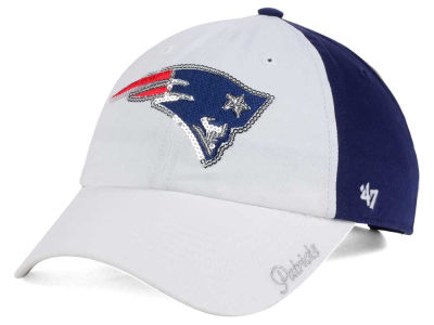 New England Patriots '47 NFL '47 Women's White Sparkle Cap