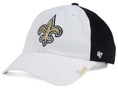 New Orleans Saints '47 NFL '47 Women's White Sparkle Cap