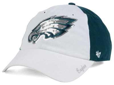 Philadelphia Eagles '47 NFL '47 Women's White Sparkle Cap