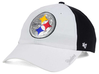 Pittsburgh Steelers '47 NFL '47 Women's White Sparkle Cap