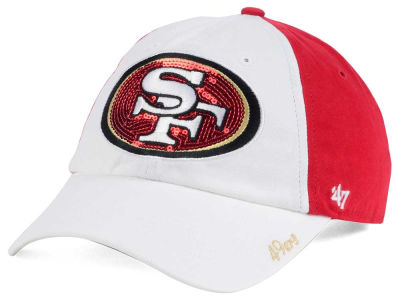 San Francisco 49ers '47 NFL '47 Women's White Sparkle Cap