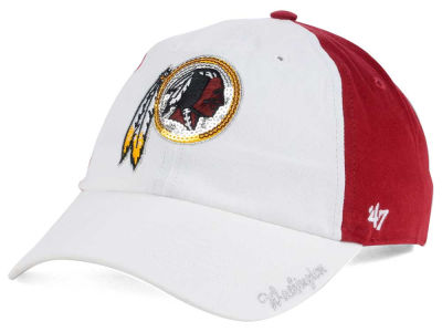Washington Redskins '47 NFL '47 Women's White Sparkle Cap