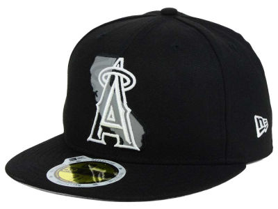 Los Angeles Angels New Era MLB State Reflective Dub 59FIFTY Cap
