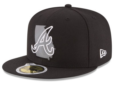 Atlanta Braves New Era MLB State Reflective Dub 59FIFTY Cap