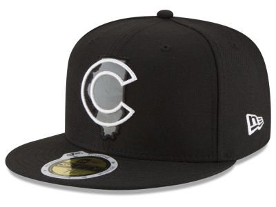 Chicago Cubs New Era MLB State Reflective Dub 59FIFTY Cap