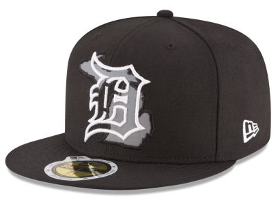 Detroit Tigers New Era MLB State Reflective Dub 59FIFTY Cap