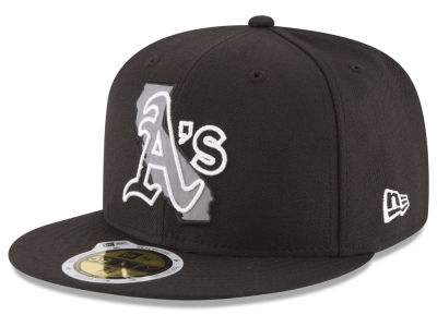 Oakland Athletics New Era MLB State Reflective Dub 59FIFTY Cap