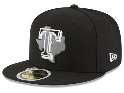 Texas Rangers New Era MLB State Reflective Dub 59FIFTY Cap