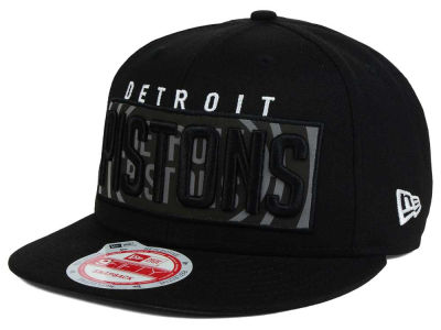Detroit Pistons New Era NBA HWC Dub Reflective 9FIFTY Snapback Cap
