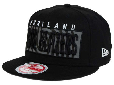 Portland Trail Blazers New Era NBA HWC Dub Reflective 9FIFTY Snapback Cap