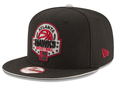 Atlanta Hawks New Era NBA HWC The Heather Patch 9FIFTY Snapback Cap
