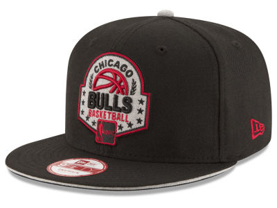Chicago Bulls New Era NBA HWC The Heather Patch 9FIFTY Snapback Cap