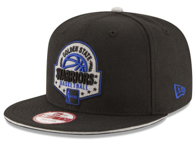 Golden State Warriors New Era NBA HWC The Heather Patch 9FIFTY Snapback Cap