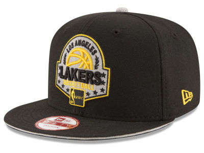 Los Angeles Lakers New Era NBA HWC The Heather Patch 9FIFTY Snapback Cap