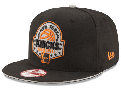 New York Knicks New Era NBA HWC The Heather Patch 9FIFTY Snapback Cap