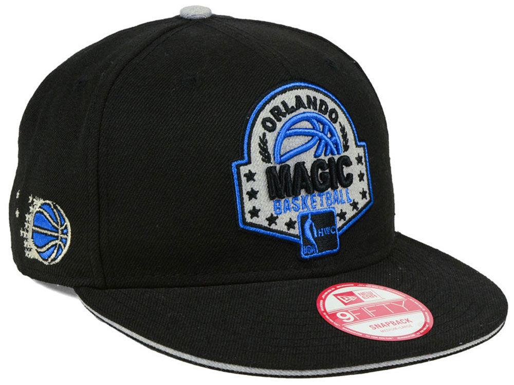 newest 2c73f c6184 Orlando Magic New Era NBA HWC The Heather Patch 9FIFTY Snapback Cap    lids.com