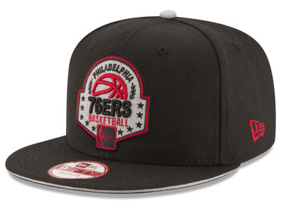 Philadelphia 76ers New Era NBA HWC The Heather Patch 9FIFTY Snapback Cap