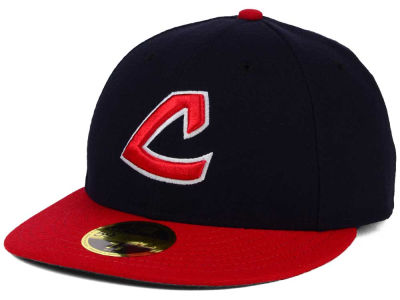 Cleveland Indians New Era MLB 2016 Turn Back The Clock 59FIFTY Cap
